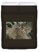 Mimic Octopus Head, North Sulawesi Duvet Cover