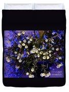 Mini Petunias Duvet Cover