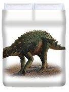 Minmi Paravertebra, A Prehistoric Era Duvet Cover