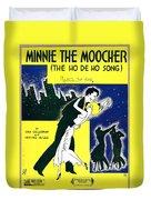Minnie The Moocher Duvet Cover
