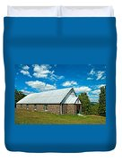 Miracle Revival Center Duvet Cover