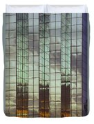 Mirrored Building Duvet Cover