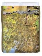 Mirroring Autumn Duvet Cover