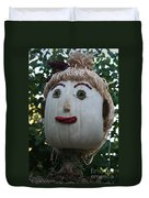 Miss Julia Scarecrow Duvet Cover
