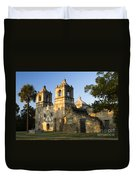Mission Concepcion In The Evening Duvet Cover