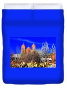Mission In Silver City Nm Duvet Cover