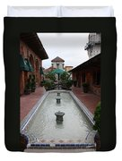 Mission Inn Roof Top Pond Duvet Cover