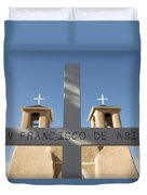 Mission Of San Francisco Duvet Cover