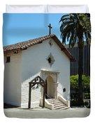 Mission San Rafael Arcangel Chapel Duvet Cover