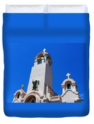 Mission San Rafael Arcangel Duvet Cover by Methune Hively
