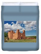 Mission To Quarai New Mexico Duvet Cover by Christine Till