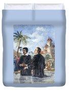Missionaries: Baptism Duvet Cover