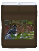 Missy Wood Duck Duvet Cover