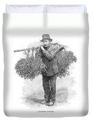 Mistletoe Gatherer, 1894 Duvet Cover