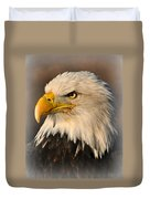 Misty Eagle Duvet Cover