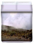 Misty Hills Duvet Cover