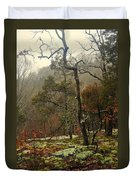 Misty Tree Duvet Cover