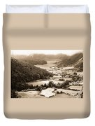 Misty Valley Duvet Cover
