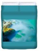 Misty Water Duvet Cover
