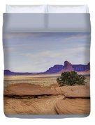 Mitchell Butte From Mystery Valley Duvet Cover