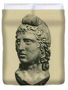 Mithras, Zoroastrian Divinity Duvet Cover