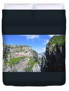 Mizen Head, Ivagha Peninsula, Co Cork Duvet Cover