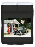 Model A Ford Duvet Cover by Ted Kinsman