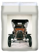 Model T Ford, 1910 Duvet Cover