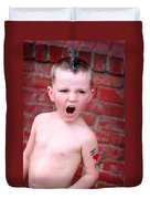 Mohawk Boy Duvet Cover