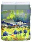 Mojacar In Spain 01 Duvet Cover