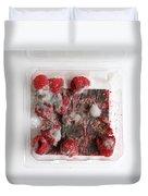 Moldy Raspberries Duvet Cover