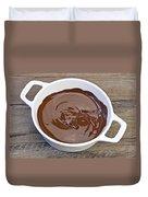 Molten Chocolate Duvet Cover