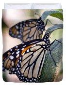 Monarch Butterflies  Duvet Cover