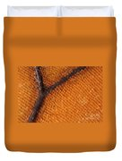 Monarch Butterfly Wing Scales Duvet Cover