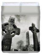 Monasterboice, Co Louth, Ireland, High Duvet Cover