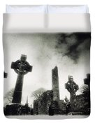 Monasterboice, Co Louth, Ireland Duvet Cover