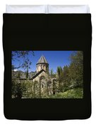 Monastery Of Ishan Duvet Cover