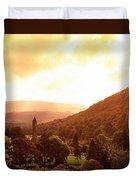 Monastic Site, Glendalough, Co Wicklow Duvet Cover