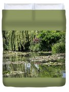Monets Lilypond - Giverny Duvet Cover