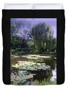 Monet's Water Garden Duvet Cover