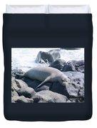 Monk Seal Duvet Cover