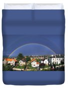 Monkstown, Co Dublin, Ireland Rainbow Duvet Cover