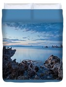 Mono Lake After Sunset Duvet Cover
