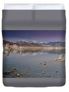 Mono Lake Panorama Duvet Cover