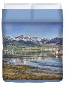 Mono Lake Sierra Duvet Cover