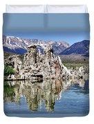Mono Lake Yosemite Duvet Cover