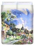Monpazier In France 01 Duvet Cover