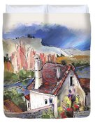 Monpazier In France 05 Duvet Cover