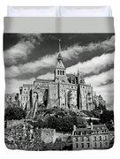 Mont St. Michel Duvet Cover