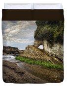 Montana De Oro Bluffs Duvet Cover